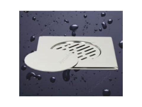 Σχαράκι PML INOX με τάπα flat 20x20 Φ110